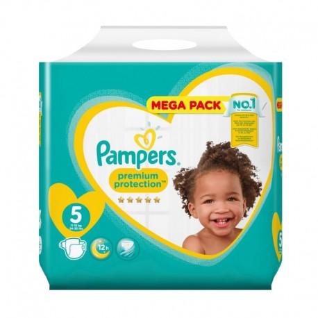 35 Couches Pampers New Baby taille 5 de Starckman
