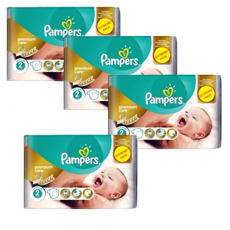 266 Couches Pampers New Baby - Premium Care taille 2 de Starckman