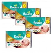 Maxi Giga Pack de 266 Couches Pampers New Baby Premium Protection sur auchan