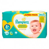 Pack 45 Couches de Pampers New Baby Premium Protection sur auchan