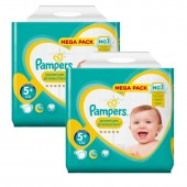 Giga Pack de 270 Couches de Pampers New Baby Premium Protection sur auchan