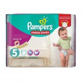 Pack 30 Couches Pampers Active Fit Pants sur auchan