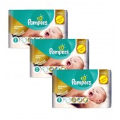 Maxi Pack de 190 Couches Pampers New Baby Premium Protection sur cdiscount