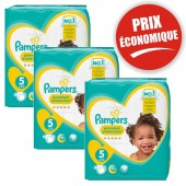 Giga Pack 120 Couches de Pampers New Baby Premium Protection sur auchan