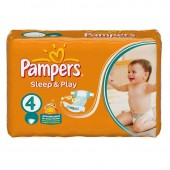 Pack de 36 Couches Pampers Sleep & Play sur auchan