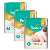 Giga Pack 208 Couches Pampers Premium Care sur auchan