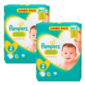 136 Couches Pampers de New Baby Premium Protection sur auchan