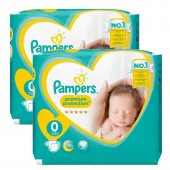 Pack de 48 Couches Pampers New Baby Premium Protection sur auchan
