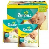 138 Couches Pampers new baby - premium protection taille 1