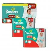 188 Couches Pampers Baby Dry Pants taille 4