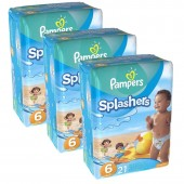 Mega Pack de 63 Couches de Pampers Swimming Pants Splachers sur auchan