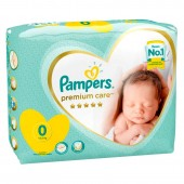 Pack 30 Couches Pampers New Baby Premium Care sur auchan