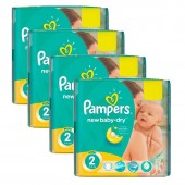 Giga Pack de 215 Couches Pampers de New Baby Dry sur auchan