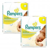 Mega Pack 336 Lingettes Bébés de Pampers New Baby Sensitive sur auchan