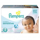 Giga pack de 240 Couches Pampers New Baby Sensitive sur auchan