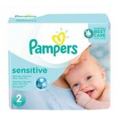 420 de 420 Couches de Pampers New Baby Sensitive sur auchan