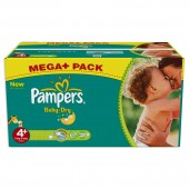 Giga pack de 287 Couches de Pampers Baby Dry sur auchan