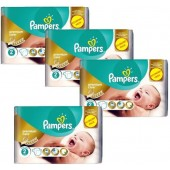 76 Couches Pampers New Baby Premium Care sur auchan