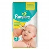 Pack de 31 Couches Pampers New Baby Premium Protection sur auchan