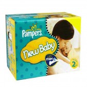 Giga pack de 217 Couches Pampers New Baby Premium Protection sur auchan