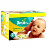 Giga pack de 279 Couches Pampers de New Baby Premium Protection sur auchan