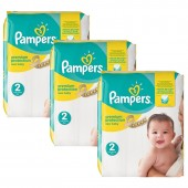 341 Couches Pampers New Baby Premium Protection sur auchan