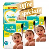 Giga pack 200 Couches Pampers de New Baby Premium Protection sur auchan
