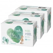 Giga pack de 297 Couches Pampers Pure Protection sur auchan