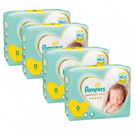 120 Couches Pampers New Baby Premium Care taille 0 de Starckman