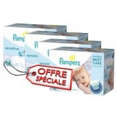 Couches Pampers New Baby Sensitive taille 2 - 420 couches