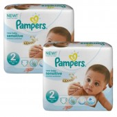 Couches Pampers New Baby Sensitive taille 2 - 480 couches