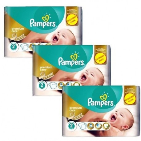 76 Couches Pampers New Baby Premium Care taille 2 de Starckman