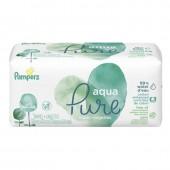 Pampers - 48 lingettes bébés aqua pure