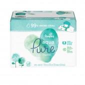 Pampers - 384 lingettes bébés aqua pure