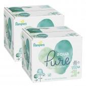 Pampers - 768 lingettes bébés aqua pure