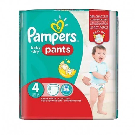 Couches Pampers baby dry pants taille 4 - 16 couches bébé de Starckman