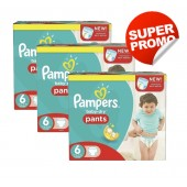 112 Couches Pampers Baby Dry Pants taille 6
