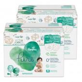 Pack de 44 Couches Pampers de Pure Protection sur auchan