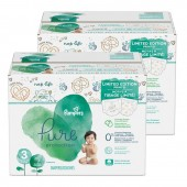88 Couches Pampers Pure Protection taille 3