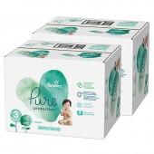 110 Couches de Pampers Pure Protection sur auchan