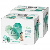 154 Couches Pampers Pure Protection sur auchan