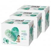 Mega pack de 176 Couches Pampers Pure Protection sur auchan