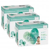 Giga pack 264 Couches de Pampers Pure Protection sur auchan