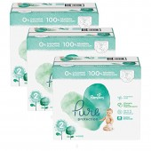 Giga pack de 216 Couches Pampers Pure Protection sur auchan