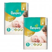 300 Couches Pampers Premium Care sur auchan