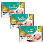 154 Couches Pampers New Baby Premium Care sur auchan
