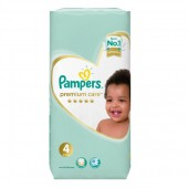 Couches Pampers new baby premium care taille 4 - 20 couches bébé