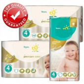Couches Pampers new baby premium care taille 4 - 120 couches bébé