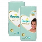 Couches Pampers new baby premium care taille 4 - 180 couches bébé