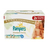 Couches Pampers new baby premium care taille 4 - 220 couches bébé
